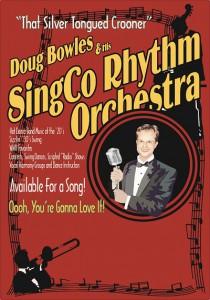 SingCo Rhythm Orchestra - Poster