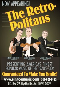 The Retro-Politans - Poster
